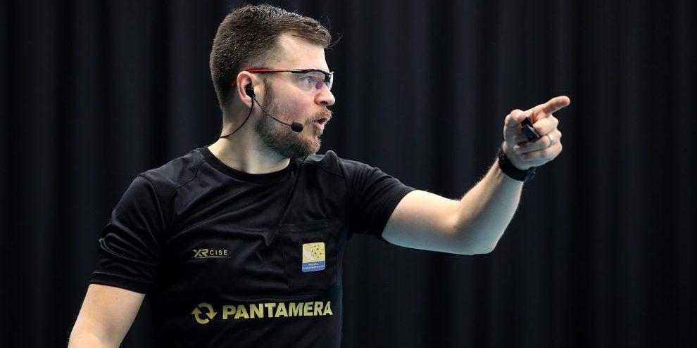 Glenn Boström, domare